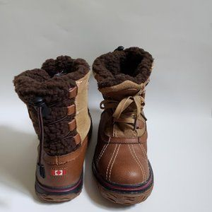Pajar Women's Iceland winter shearling lining boot